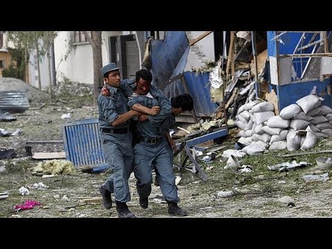 Taliban launch attack in central Kabul