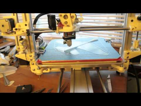 Bukobot 3D Printer - Bukobot Fly Test Flight