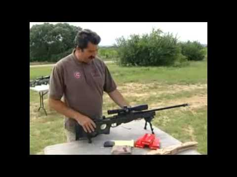 Accuracy International rifle Demo pt1