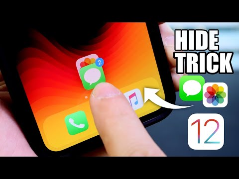How to Hide Messages and Photos in iOS 12