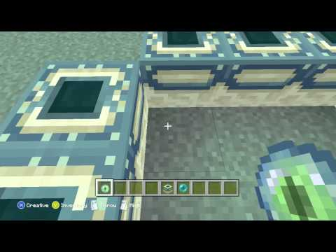 Minecraft Xbox One, PS4, How to Make an End Portal [2014] [HD]