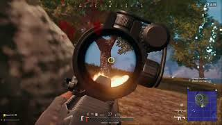 Player Unknown Battlegrounds. Clutch the game with no health to get that dinner