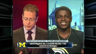 Recruiting(nation)- Jabrill Peppers picks Michigan