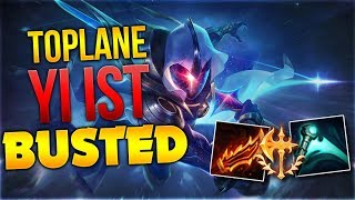 Master Yi Toplane ist Busted LOL [League of Legends] [Deutsch / German]