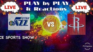UTAH JAZZ VS HOUSTON ROCKETS LIVE REACTIONS PLAY BY PLAY