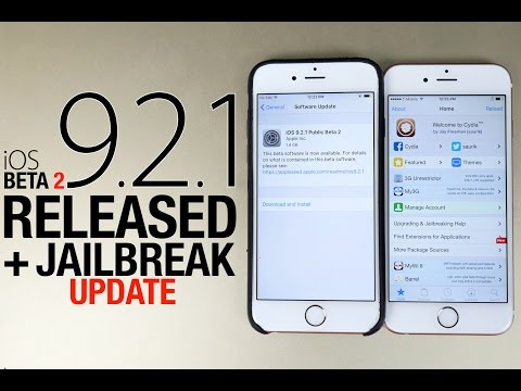 IOS 9.2.1 Beta 2 Released & 9.2 Jailbreak Update