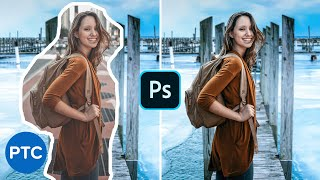 How To Match a Subject Into ANY Background In Photoshop! Compositing Tutorial