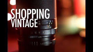 CHEAP VINTAGE LENSES - BEST Way to Buy VINTAGE