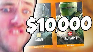Betting $10,000 on a Siege Game...