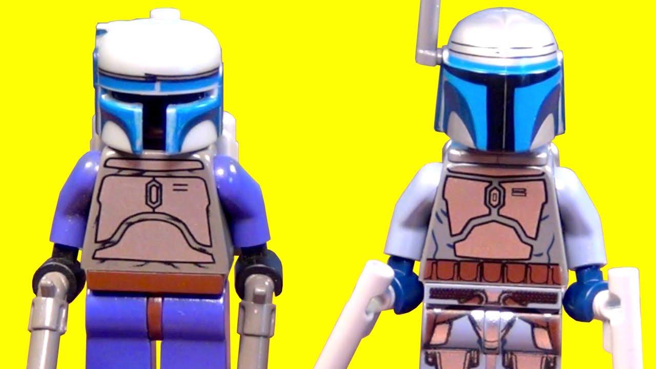 Jango Fett Lego Minifigure Lego Jango Fett Star Wars