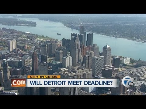 Will Detroit meet its deadline?