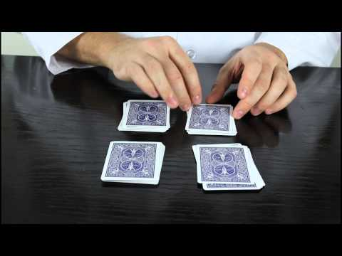 5 Cool Easy Card Tricks for Beginner! klip izle