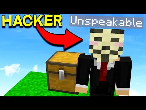 PRETENDING TO HACK UNSPEAKABLE TO TROLL PLAYERS!
