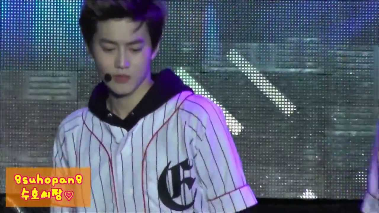 Xiumin Exo Growl 131006 EXO Growl SUHO focus