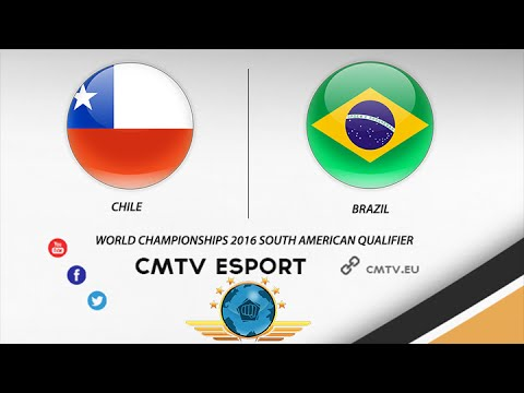 CS:GO - Brazil vs Chile - BO3 1/2 Finale #1 -The World Championships 2016 South American Qualifier