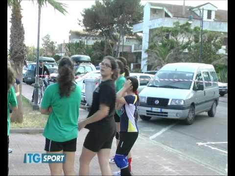 TG SPORT, (puntata di domenica 3 giugno 2012) SPECIALE GIORNATA MINI-VOLLEY AD ARDORE (RC)
