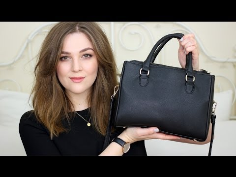 What's in My Bag: Zara Mini Office City | I Covet Thee