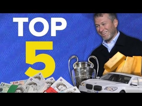 Top 5 Richest Club Owners