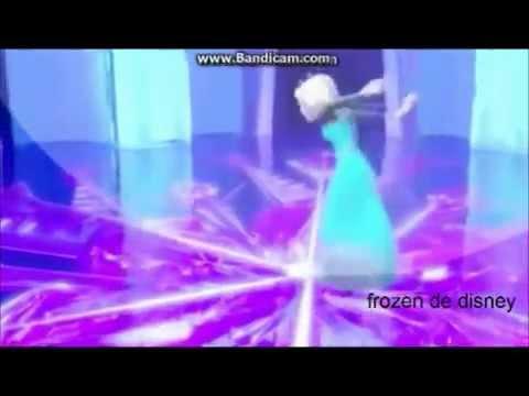 frozen una aventura congelada: Elsa canta libre soy
