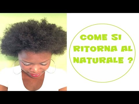 Come si ritorna al naturale ? SV #1  capelli ricci / crespi