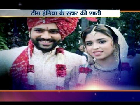 Rohit Sharma Gets Married with Girlfriend Ritika Sajdeh in Mumbai