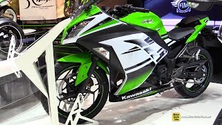 2015 Kawasaki Ninja 300 - Walkaround - 2014 EICMA Milan Motorcycle Exhibition