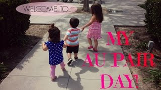 AU PAIR VLOG 6.  My Au Pair day!