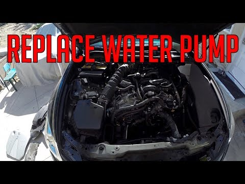 [DIY] Water Pump Replacement for 2006-2011 Lexus GS 300 350 IS 250 350