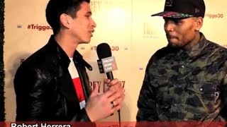 Chris Brown interview 2014 talks about trey songz tour and dancing