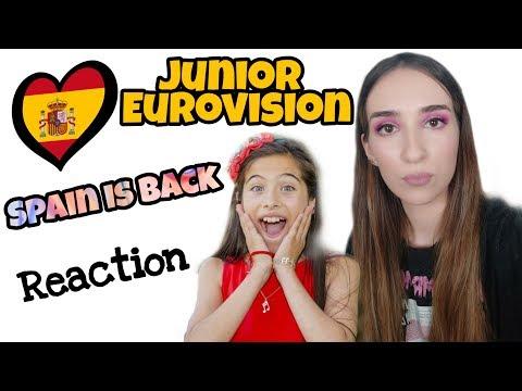 JESC REACTION | SPAIN | Melani García - Marte | Junior Eurovision 2019