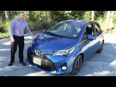 2015 Toyota Yaris Walkaround Video Review