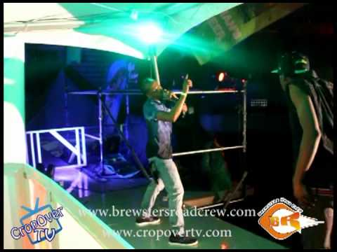 Lil Rick - Talk Yuh Talk In the Rain - Brewster's Road Crew Torch Fete - Crop Over 2012