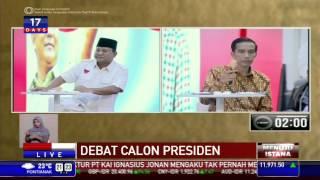 Debat Capres 2014: Tanya Jawab Jokowi dan Prabowo #2