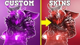 RANKING EVERY CUSTOMIZABLE SKIN FROM WORST TO BEST! (Fortnite Battle Royale!)