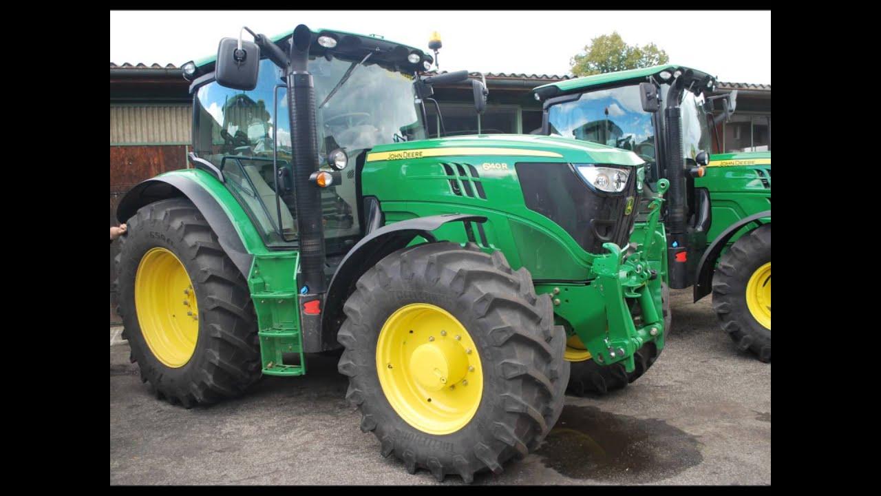 Jd R Series Tractors : New john deere r series youtube