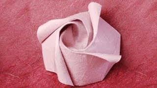 Origami Rose Instructions: Www.origami-fun.com