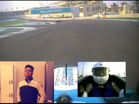 Formula Yas 3000 Racing Experience at Yas Marina F1 Circuit Abu Dhabi by Anush Shetty