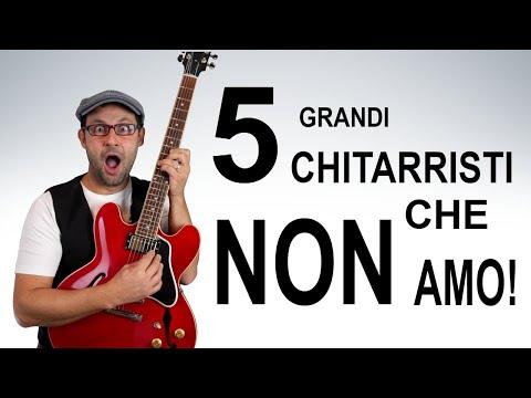 5 GRANDI chitarristi che NON AMO (come farsi odiare in  POCHI minuti da MIGLIAIA di persone)