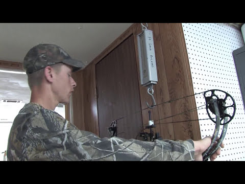 Bow Hunting : How to Set the Draw Weight on a Compound Bow
