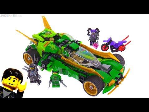 LEGO Ninjago Ninja Nightcrawler review! 70641