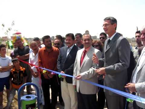 American PRT Dedicates a New Park in Kirkuk, Iraq