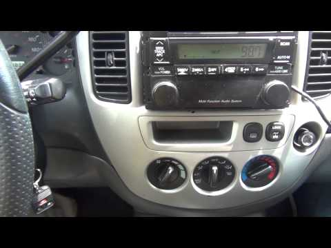 GTA Car Kits - Mazda Tribute 2002-2006 iPod. iPhone and AUX adapter installation