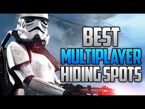 Star Wars Battlefront - BEST MULTIPLAYER HIDING SPOTS! (Star Wars Battlefront Launch Tips & Tricks)