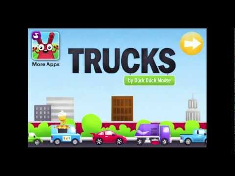 Trucks - by Duck Duck Moose iPhone App Review - CrazyMikesapps
