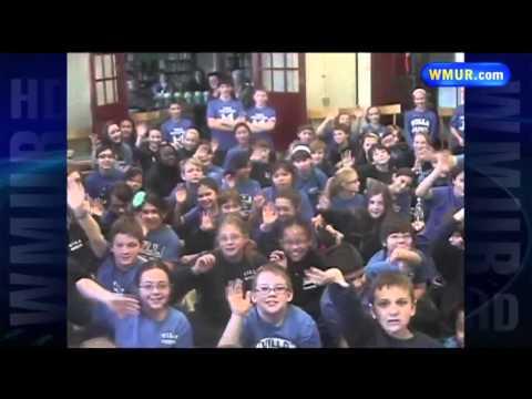School Visit: Villa Augustina School in Goffstown