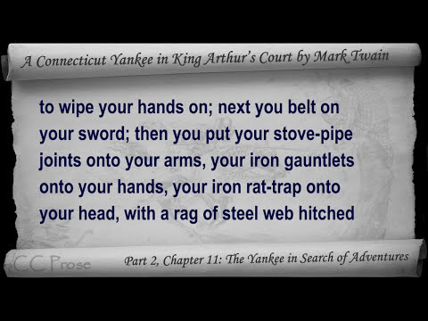Part 2 - A Connecticut Yankee in King Arthur's Court Audiobook by Mark Twain (Chs 07-11)
