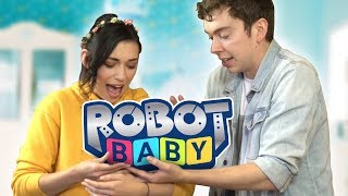 RAISING OUR ROBOT BABY! (Game)