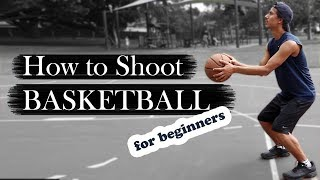 How to Shoot a Basketball (For Beginners)