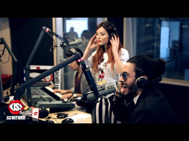 Elena Gheorghe & Glance - Ecou live la Kiss FM