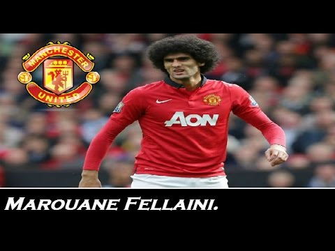 Marouane Fellaini - Goals ,Skills & Passes |  Man. United  | 2013/2014 | HD